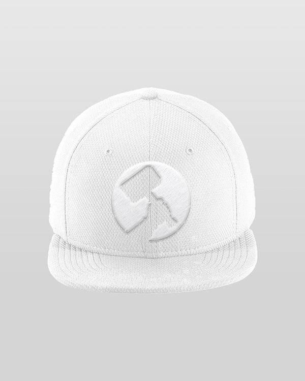 Towelliee New Era White Snapback