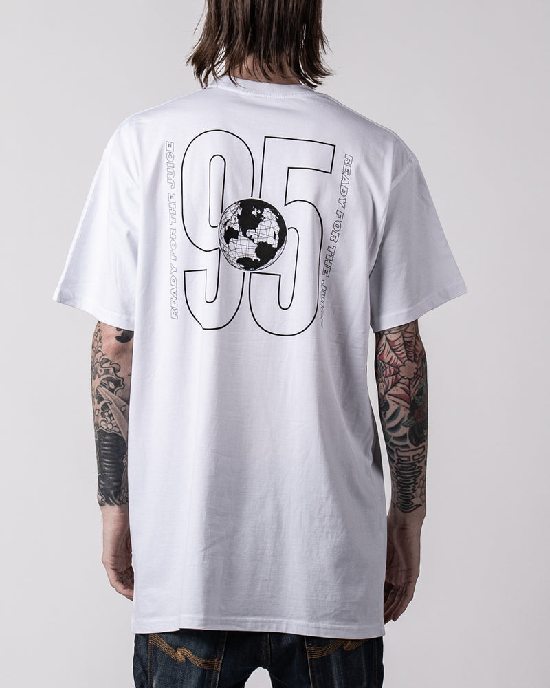XQC JUNGLE Premium White Tee