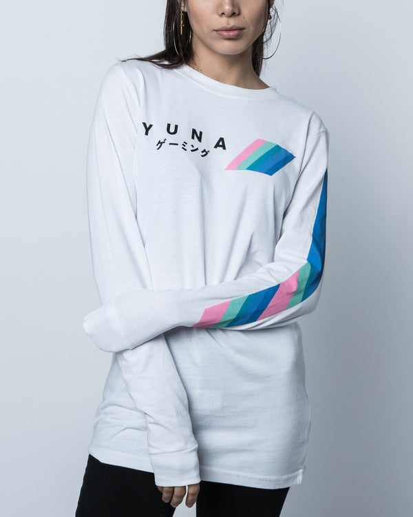 Yunalescka White Long Sleeve Tee