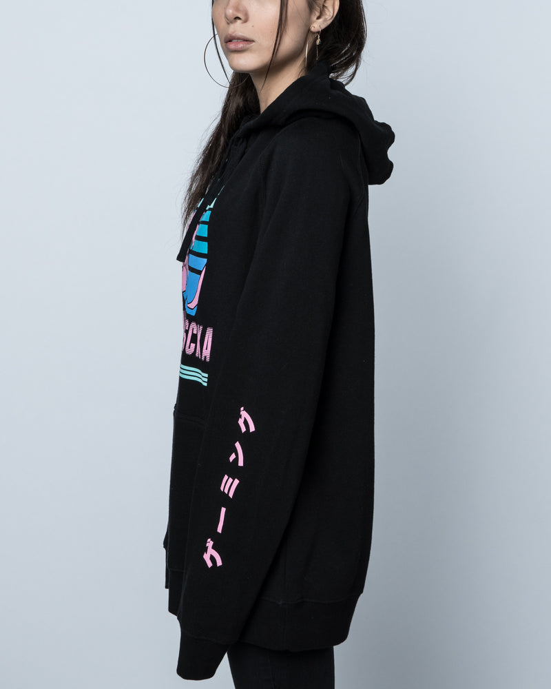 Yunalescka Gaming Black Pullover