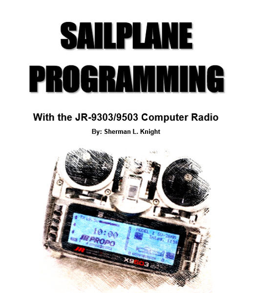 Sailplane Programming for the JR 9503