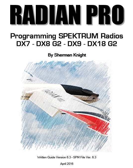 Radian Pro for the DX7, DX8 G2, DX9 and DX18 G2