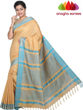 Anagha Sarees Kota Staple Silk Kota Staple Silk Saree -  Beige ANA_G59