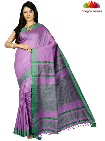 Kota Staple Silk Saree - Lavender ANA_C65