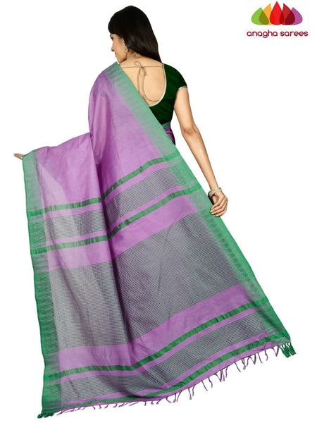 Anagha Sarees Kota Staple Silk Kota Staple Silk Saree - Lavender ANA_C65