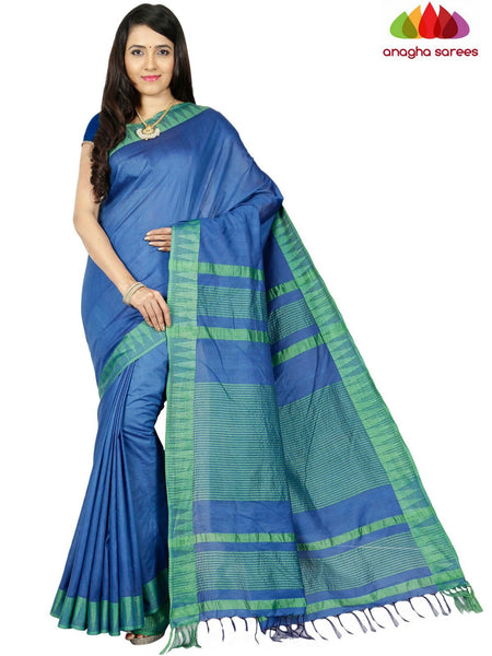 Kota Staple Silk Saree -  Blue ANA_C68