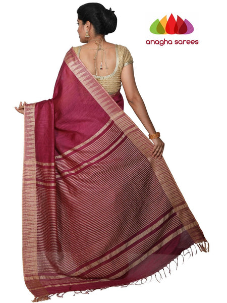 Kota Staple Silk Saree - Magenta : ANA_G63