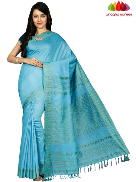 Kota Staple Silk Saree - Sky Blue  ANA_C70