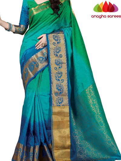 Trendy Fashion Silk Saree - Multicolor ANA_401 - Anagha Sarees