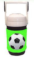SPIRIT WRAPS SPORTY SOCCER NEON GREEN
