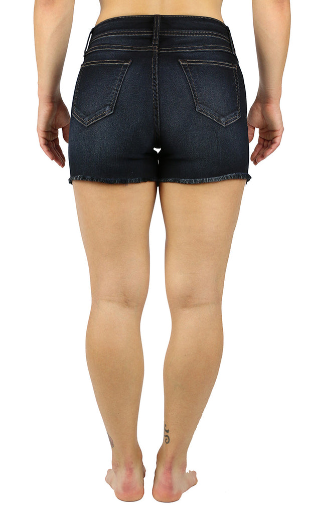 Amy High Rise Shorts Eclipse Wash