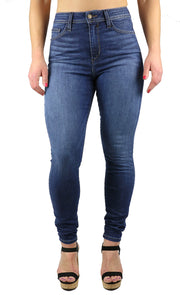 April Super High Rise Skinny Medium Wash
