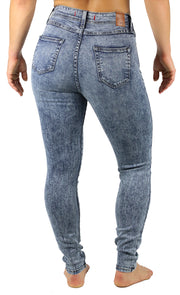 NEW! April Super High Rise Acid Wash