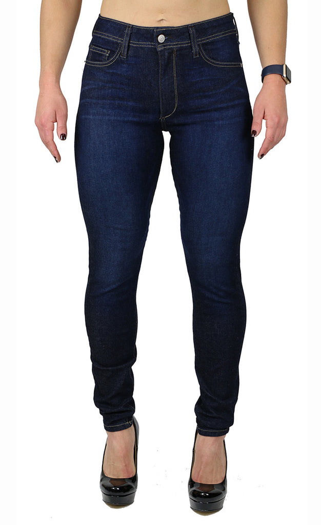 NICOLE HIGH RISE SKINNY (FD1042) DARK