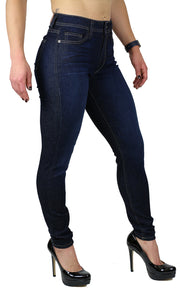 NICOLE HIGH RISE SKINNY DARK