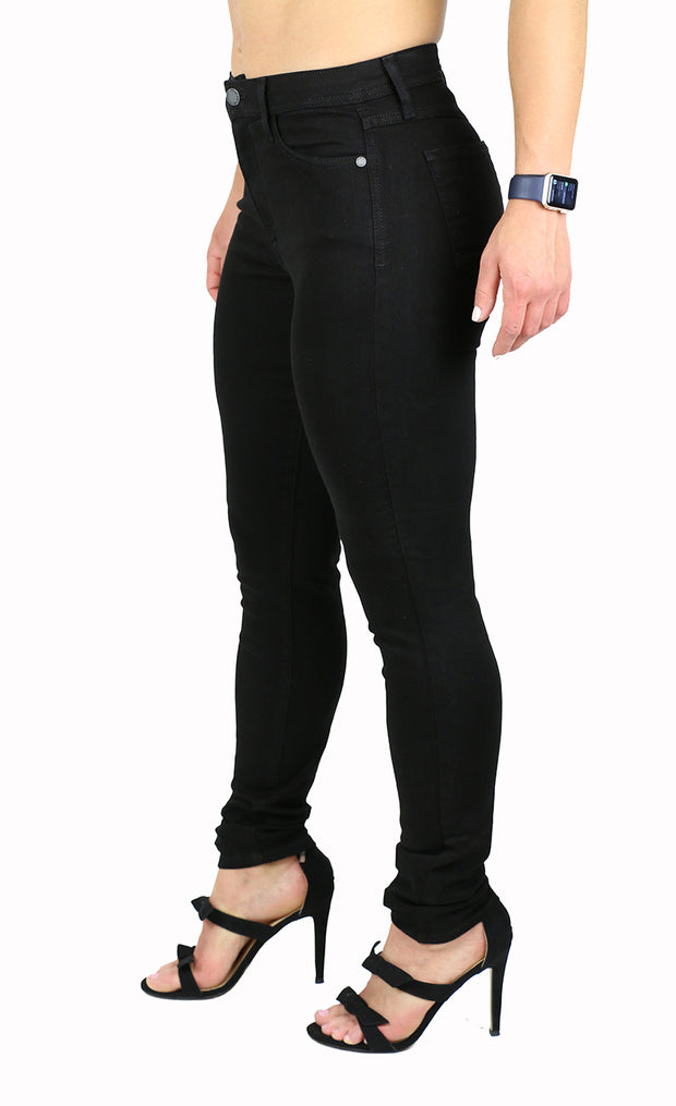 Julie High Rise Skinny Black