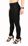 JULIE HIGH RISE BLACK SKINNY (FD1047)