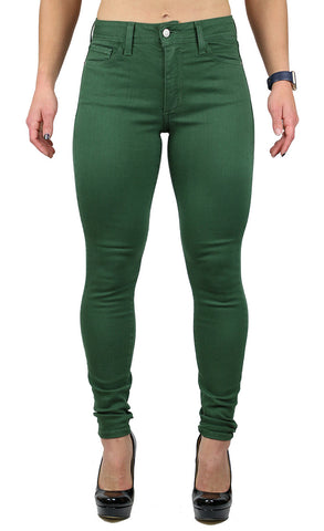JULIE HIGH RISE SKINNY DARK FOREST (FD1047)