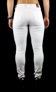 Julie High Rise Skinny White