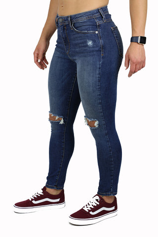 LILY HIGH RISE PETITE SKINNY (FD1059) NEW