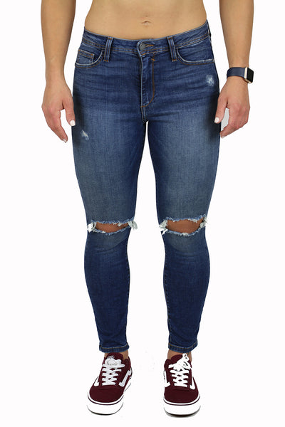 LILY HIGH RISE PETITE SKINNY (FD1059)