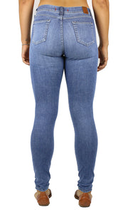 Emma Long Inseam High Rise Skinny Light Wash