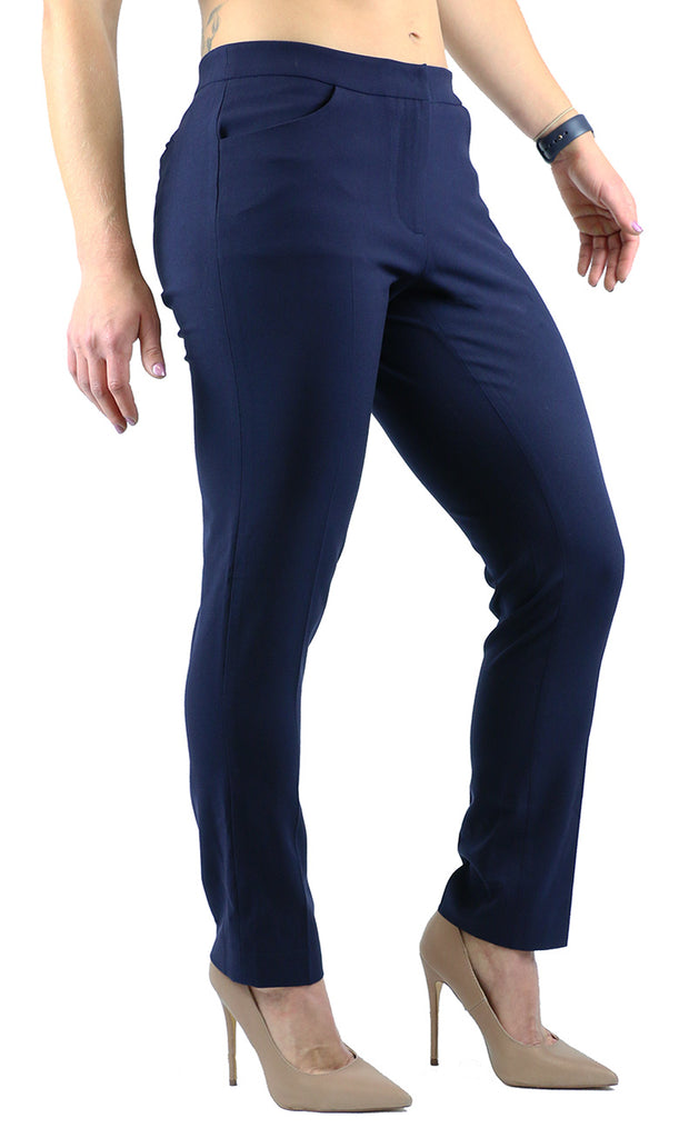 CAROL SLACKS NAVY