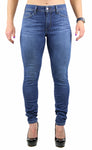 Nicole High Rise Skinny Medium Stone Wash