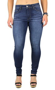 Mika High Rise Petite Skinny Dark Wash