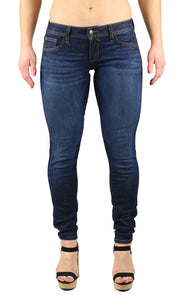 Dana Low Rise Skinny Dark Wash