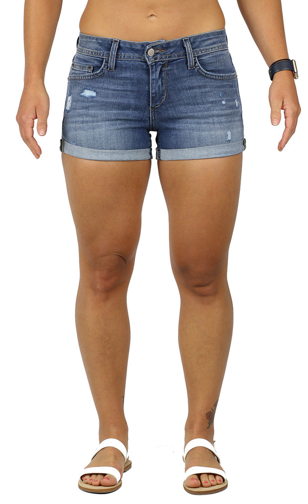 MOLLY DESTRUCTION WASH SHORTS