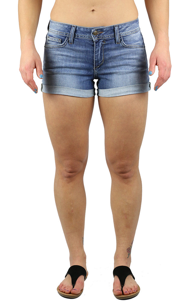 Molly Shorts Light Wash
