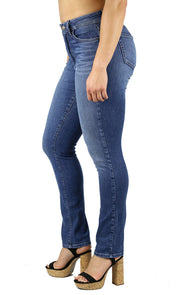 Madison Straight Leg Jean Medium Wash