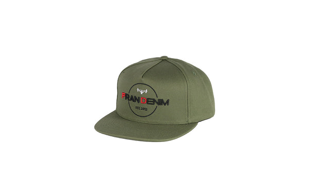 Snap Back FD Hat Olive