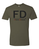 FRAN DENIM ARMY GREEN SHIRT