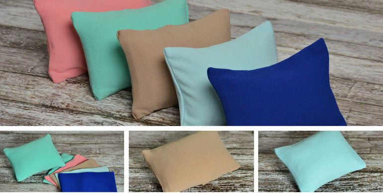 mini pillows for newborn photography