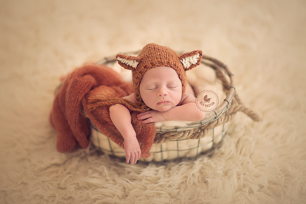 Faux Fur - Ivory-Newborn Photography Props