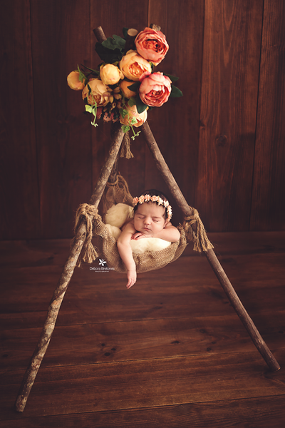 Rustic Suspended Posing Nest-Newborn Photography Props
