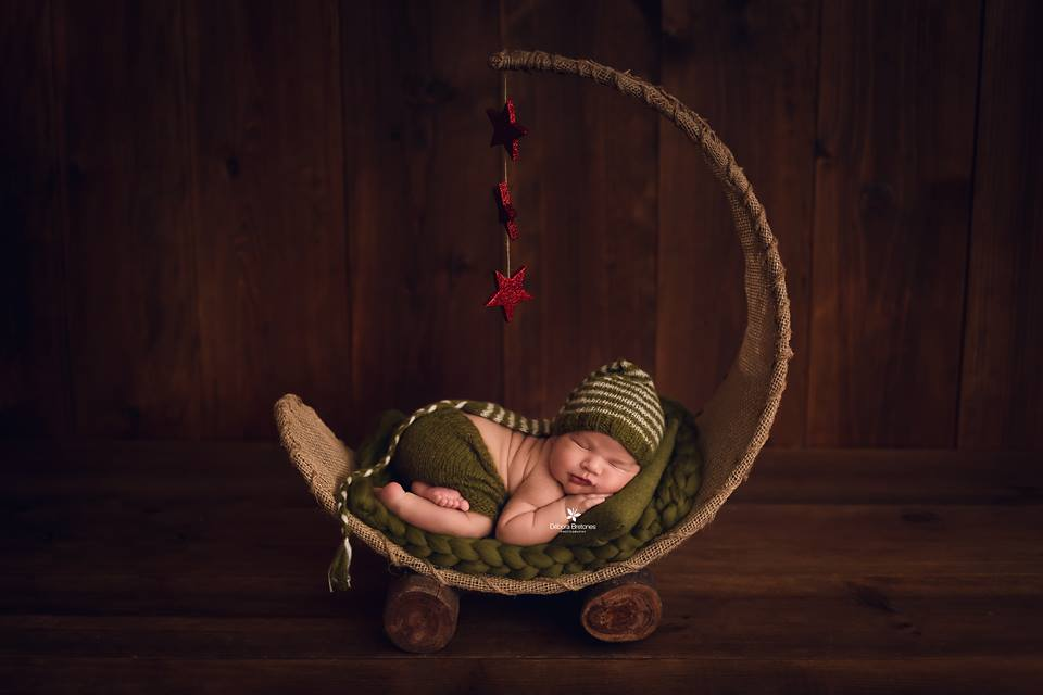 Rustic Moon - Floor Hammock / Swing-Newborn Photography Props