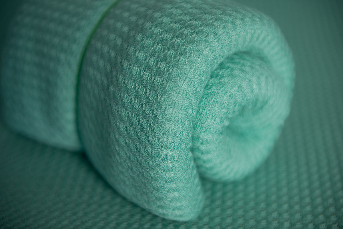 Baby Wrap - Perforated - Mint