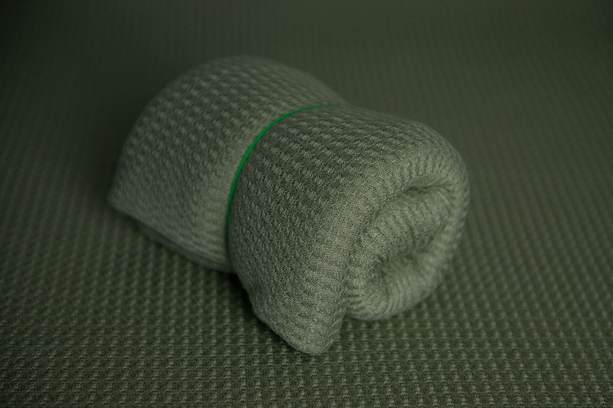 Bean Bag Fabric - Perforated - Sage