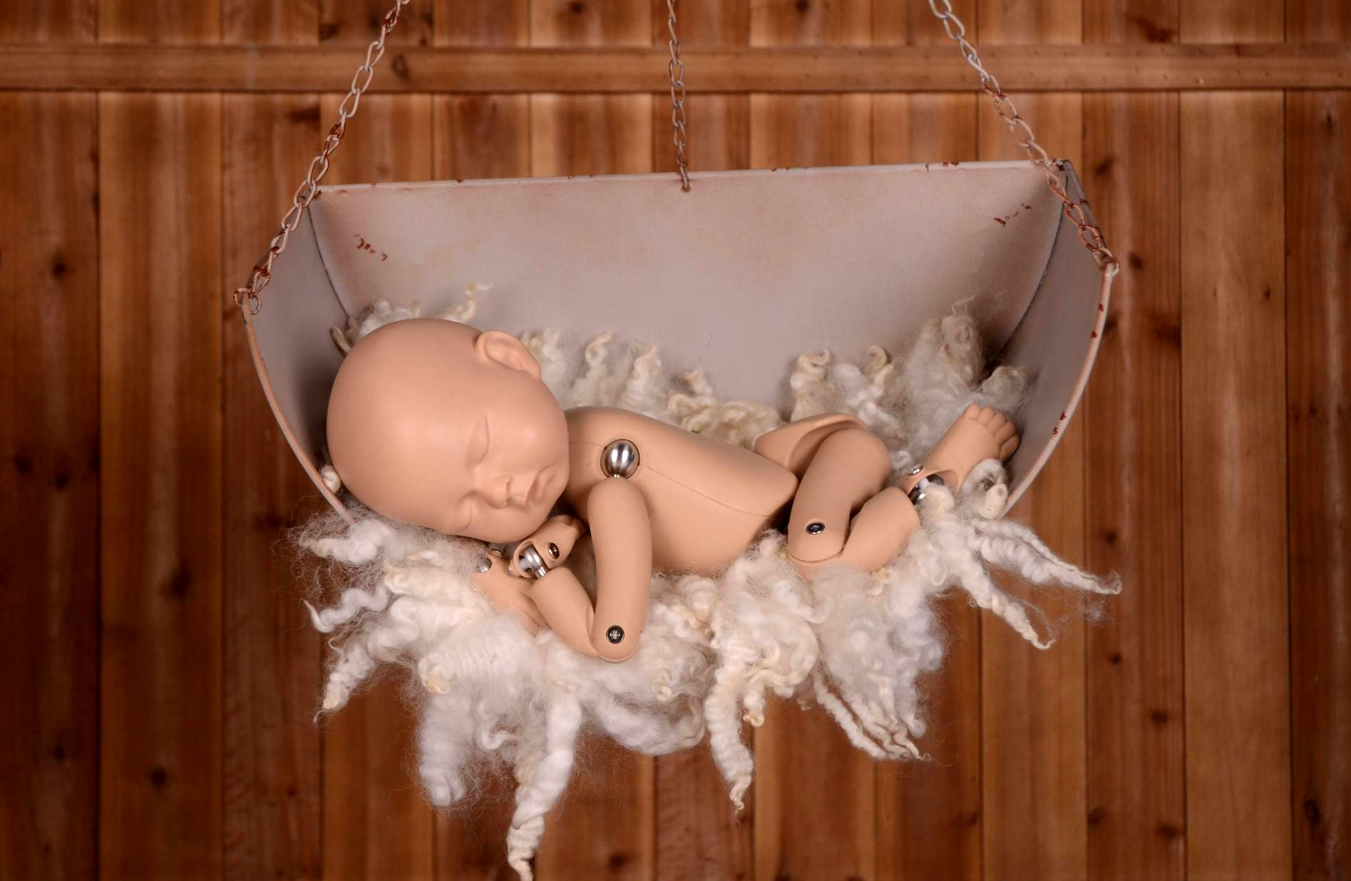 Vintage Hanging Weighing Scale-Newborn Photography Props