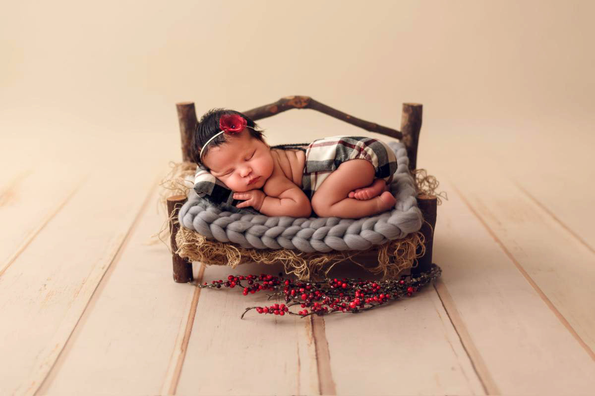 Rustic Bench-Newborn Photography Props