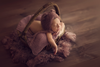 Bear Bonnet - Violet-Newborn Photography Props