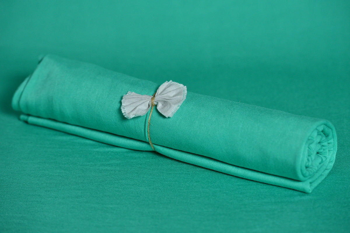Bean Bag Fabric - Smooth - Deep Aqua-Newborn Photography Props