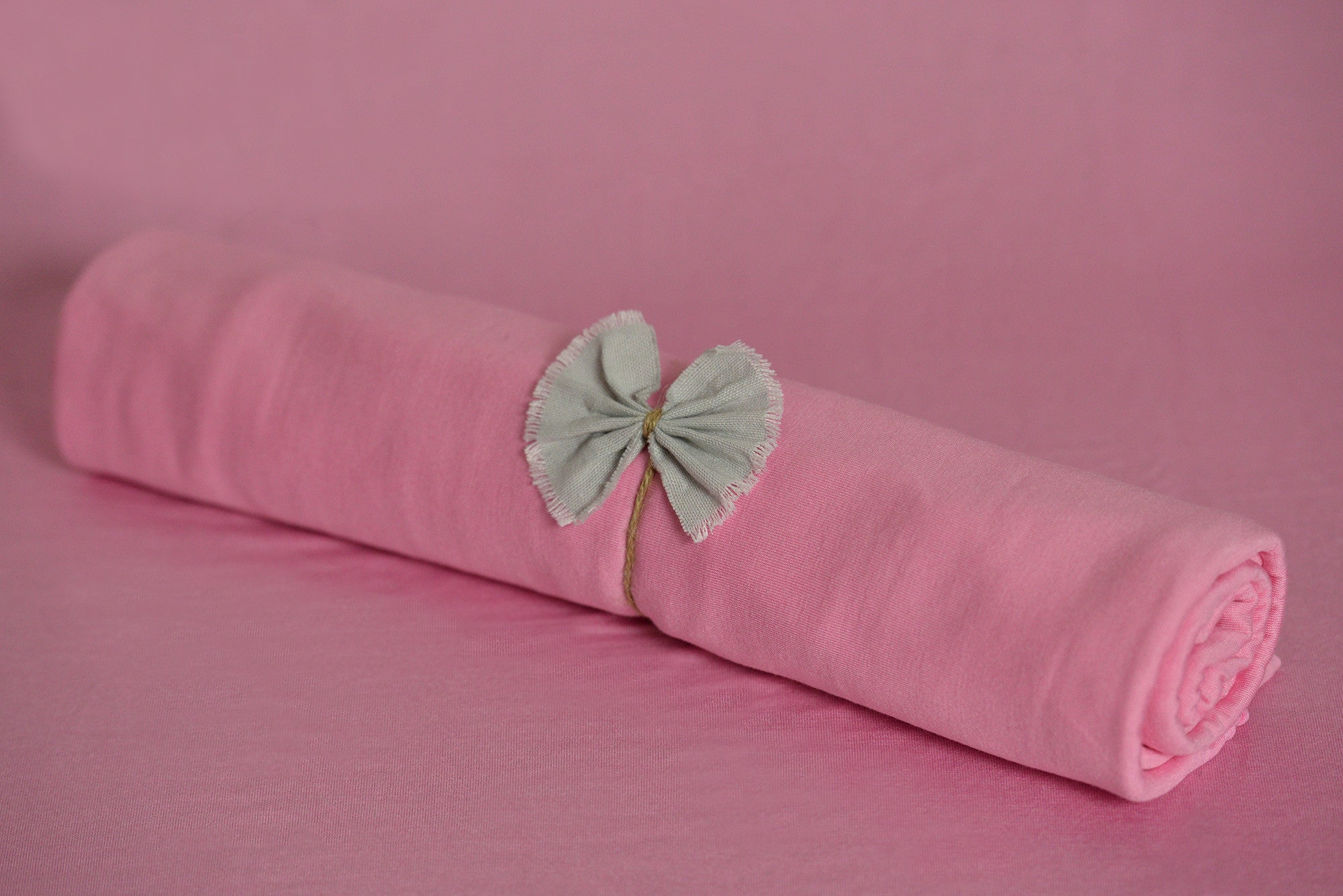 Bean Bag Fabric - Smooth - Pink-Newborn Photography Props