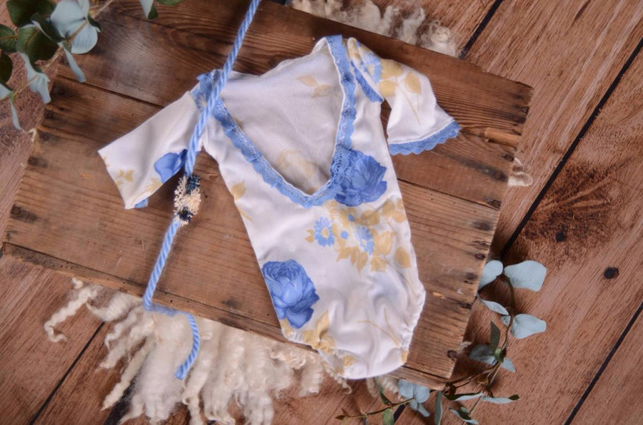 SET Bodysuit and Headband - Floral
