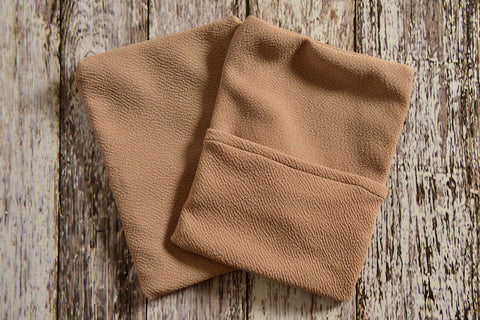 Cover for Mini Pillow - Textured - Khaki