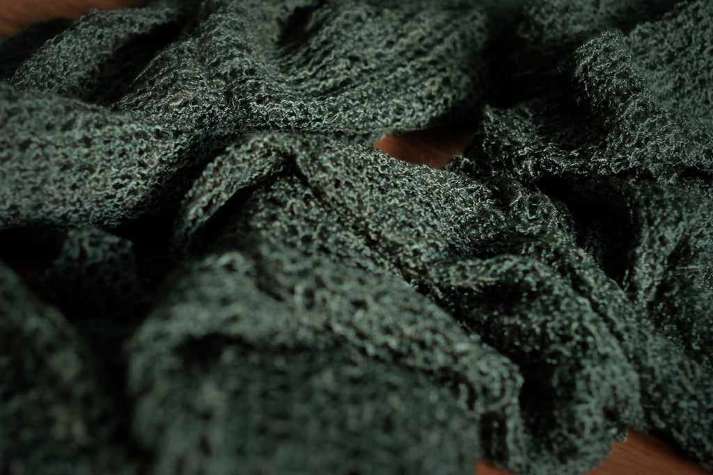 Stretch Knit Baby Wrap - Dark Green