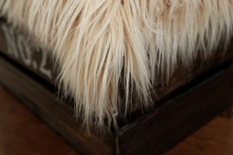 Faux Fur - Wheat